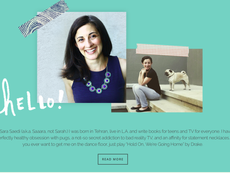 Sara Saedi Website Cover