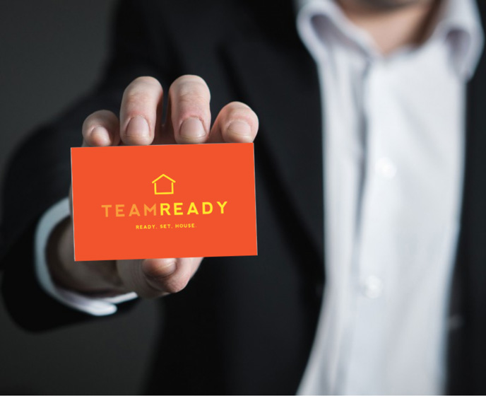 Team Ready Business Card Image
